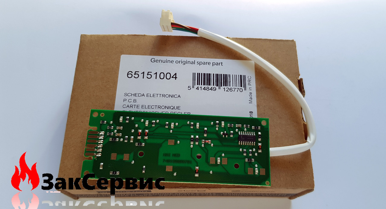 Плата индикации и управления с проводом на водонагреватели Ariston серии SHP ECO65151004