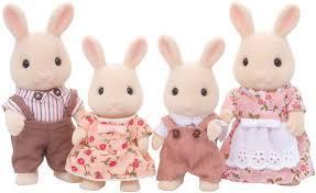 Sylvanian Families 4108 Сім'я молочних кроликів Семья молочных кроликов Milk Rabbit Family