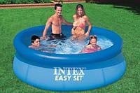 Надувной бассейн Intex 244х76 см (28110), диаметр 244см. Бассейны во двор, бассейны наливные интекс, фото 1