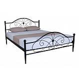 Двуспальные металлические кровати