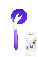 Роликовий ніж для мастики і тіста (пластик)
