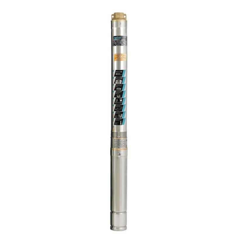 Скважинный насос Rudes 3FRESH 1200 + кабель 50 м глубинный насос напор 125м, мощность 1150Вт