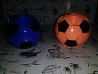 """Подставка для ручек пластик """" Мяч """"  синий, оранжевый , белый  код 2246"""