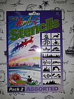 Трафарет для окон , 2 вида  AirArt Stencil, фото 1