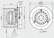 Вытяжной вентилятор MplusM R2E 210-AA34-05, фото 2