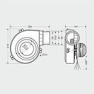 Вытяжной вентилятор MplusM WW 150-01, фото 3