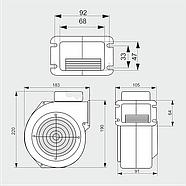 Нагнетательный вентилятор MplusM WPA 130 (EBM), фото 2