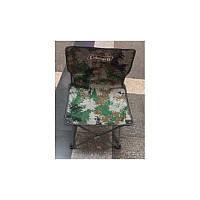 Складной стул для туризма кемпинга рыбалки HX-010 Камуфляж