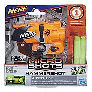 Бластер Nerf Зомби Страйк Микрошот Хаммершот  Zombie Strike MicroShots Hammershot, фото 2