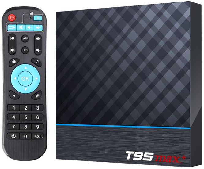Приставка T95 Max Plus | 4/64 GB | Amlogic S905X3 | Android TV Box
