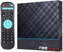 Приставка T95 Max Plus   4/64 GB   Amlogic S905X3   Android TV Box