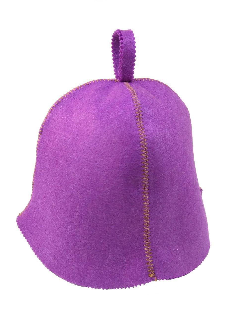 Банная шапка Luxyart искусственный фетр фиолетовый (LС-411)