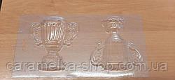 Форма для шоколаду Кубок, пластик