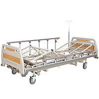 Кровать медицинская механическая с регулировкой высоты OSD-94U, 4 секции, фото 1