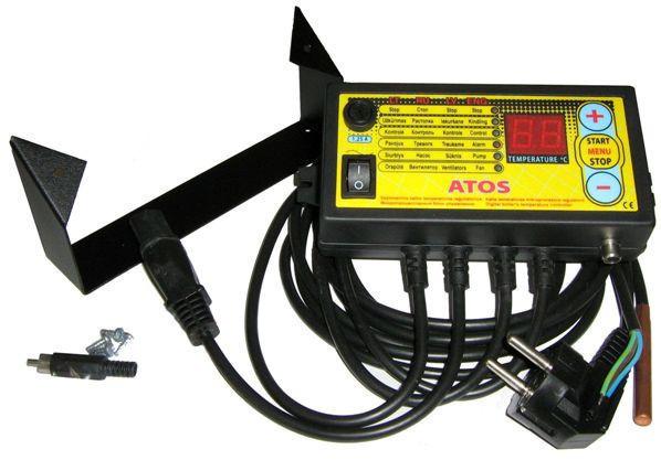 Автоматика для твердотопливных котлов Kom-ster Atos (макс)