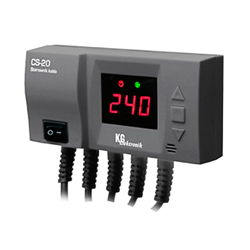 Автоматика для твердотопливных котлов KG Elektronik CS-20
