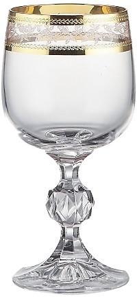 Набор бокалов для вина 190 мл 6 шт Claudia Bohemia 40149/43081/190
