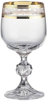 Набор бокалов для вина 190 мл 6 шт Claudia Bohemia 40149/43081/190, фото 2