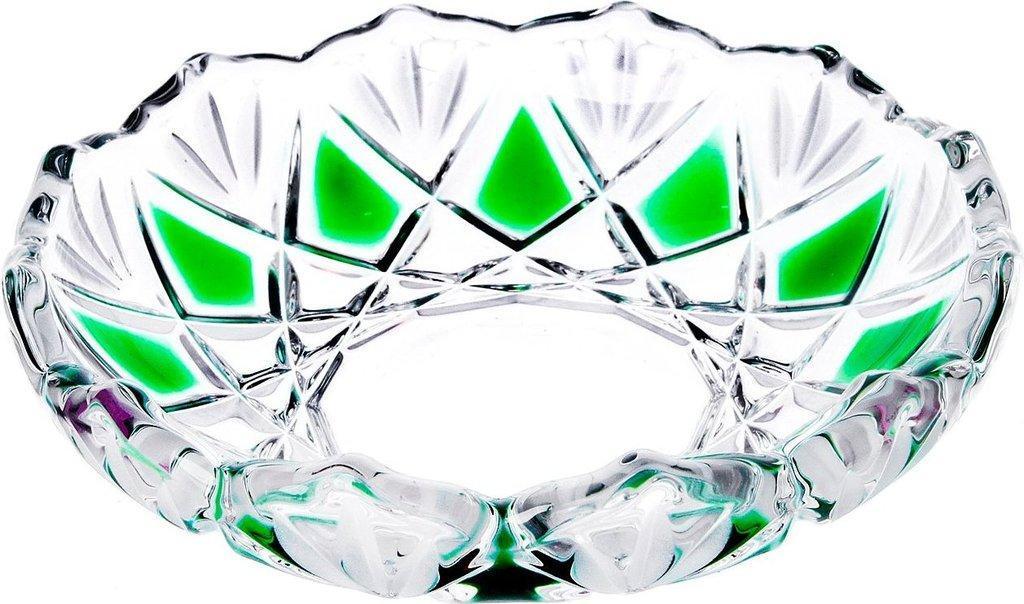 Набор тарелок 3 шт 13 см Saturn Smaragd Walther-Glas WG-5994