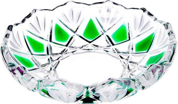 Набор тарелок 3 шт 13 см Saturn Smaragd Walther-Glas WG-5994, фото 2