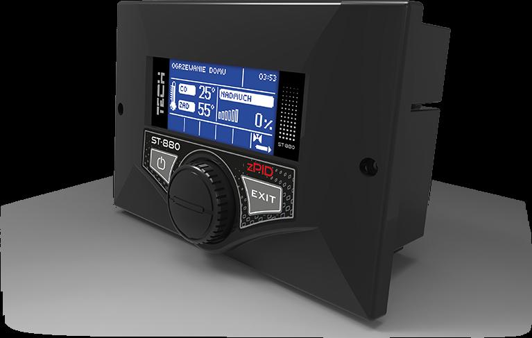 Автоматика для твердотопливных котлов Tech ST-880 zPID