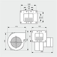 Нагнетательный вентилятор MplusM WPA 01, фото 4