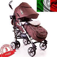Детская прогулочная коляска трость DolcheMio-SH638APB Brown