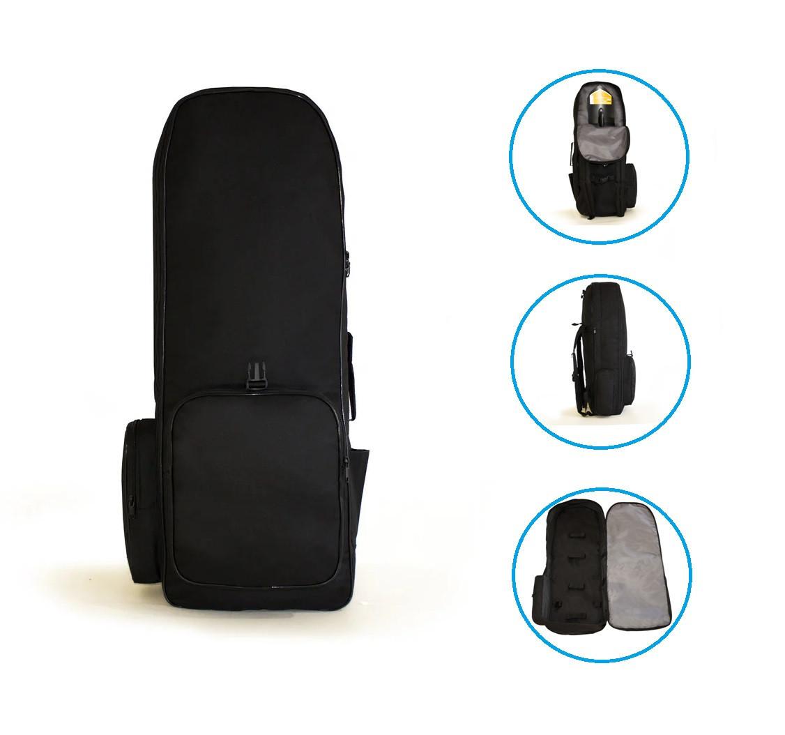 Рюкзак для металлоискателя и лопаты «BLACK» - Oxford 600d----> 85см * 30см * 18см