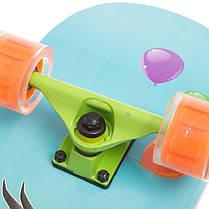 Скейтборд в сборе (роликовая доска) SK-1248-1 (колесо-PU, р-р деки см), фото 3