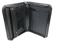 Кожаная деловая папка A-art TS1002 черная