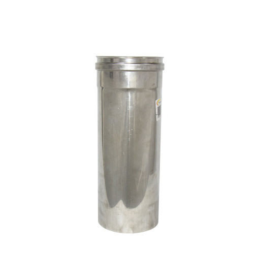 Труба дымоходная 0,3 м нерж. ø200 мм (толщина 0,8 мм)