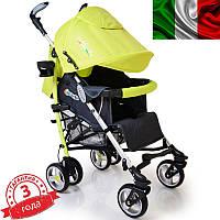 Детская прогулочная коляска трость DolcheMio-SH638APB Light Green