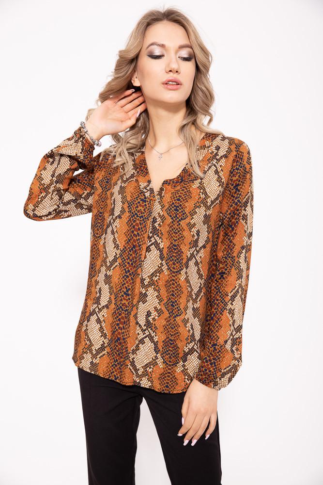 Блуза 103R071 цвет Коричнево-черный