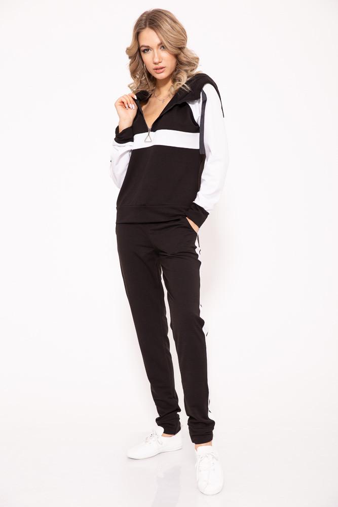 Спорт костюм женский 102R020 цвет Черный