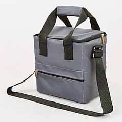 Термосумка (сумка-холодильник) 10л GA-0292-10 (поліестер, мягая термоізоляція, р-р 25х25х16см, кольори в