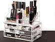 Органайзер для косметики Cosmetic Storage Box пластиковый бокс для хранения, фото 3