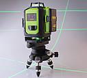 Лазерный уровень Fukuda MW94D 4GJ. 《МЕГА КОМПЛЕКТ》《2 шт Li-ion 4000mAh》СЕРЕБРЯНЫЕ ДИОДЫ》, фото 4