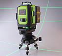 ❤OSRAM ДИОДЫ - 5 лет ❤Лазерный уровень Fukuda MW94D 4GX. 《2 шт аккумулятора 4000мАч》《бирюзовый луч》, фото 4