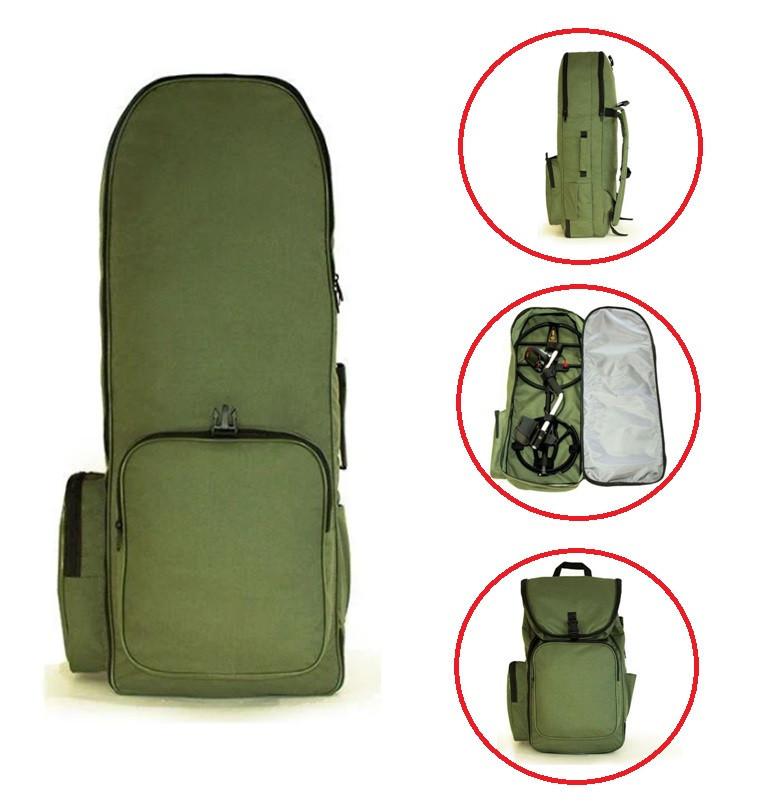 """Рюкзак для металлоискателя и лопаты «olive» """"олива"""" - Oxford 600d----> 85см * 30см * 18см"""