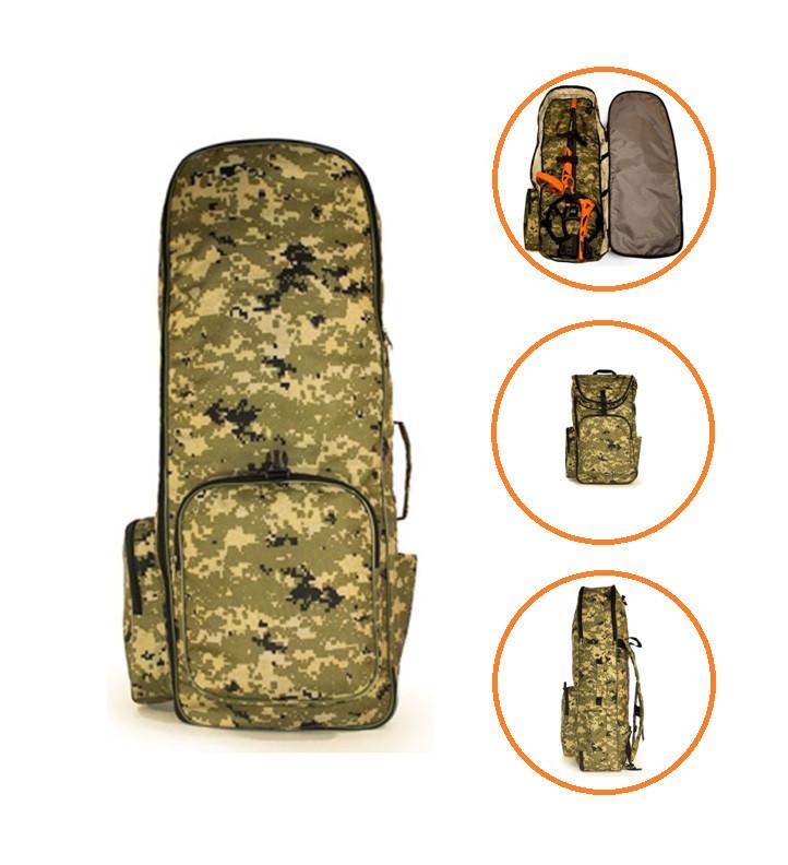 Рюкзак для металошукача і лопати «КАМУФЛЯЖ» - Oxford 600d----> 85см * 30см * 18см