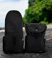Рюкзак для металлоискателя и лопаты «черный» - Oxford 600d
