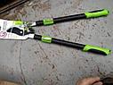 """Плоскосной гілкоріз 0207《ХРАПОВИХ МЕХАНІЗМ》《 телескопічні ручки》 """"ЦЕНТРОинструмент"""", фото 4"""