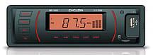 Бездисковый MP3/SD/USB/FM проигрователь CYCLON 1002 оранжевый