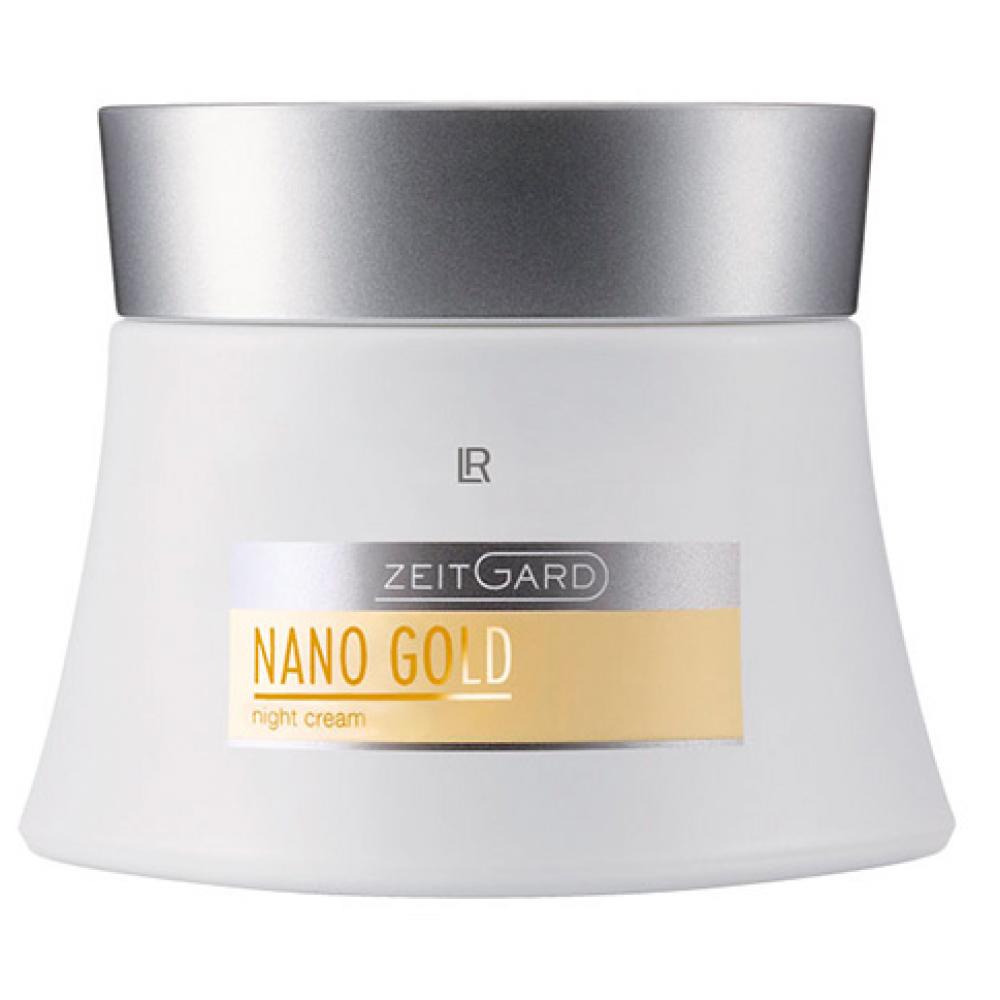 Ночной крем LR Health & Beauty Zeitgard Nanogold, 50 мл, 28183