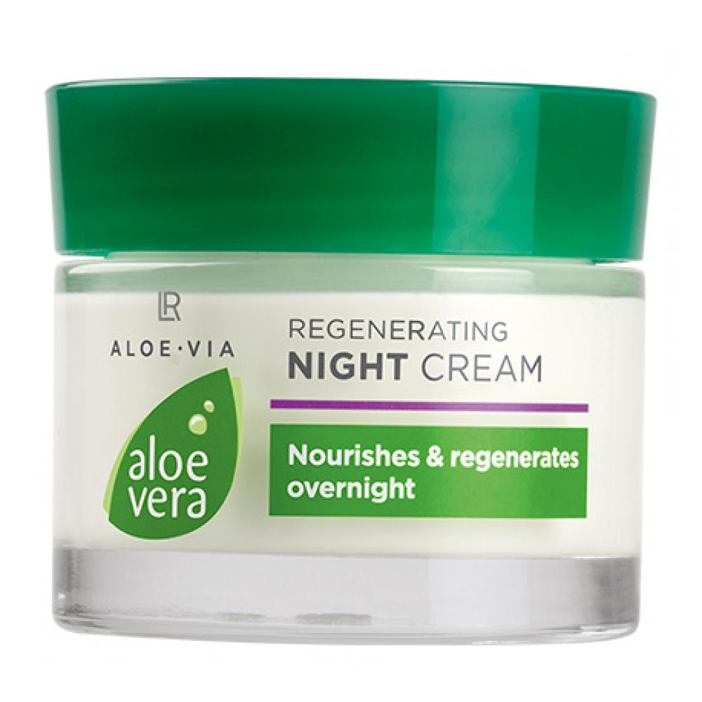 Регенерирующий ночной крем LR Health & Beauty ALOE VIA Aloe Vera, 50 мл, 20675