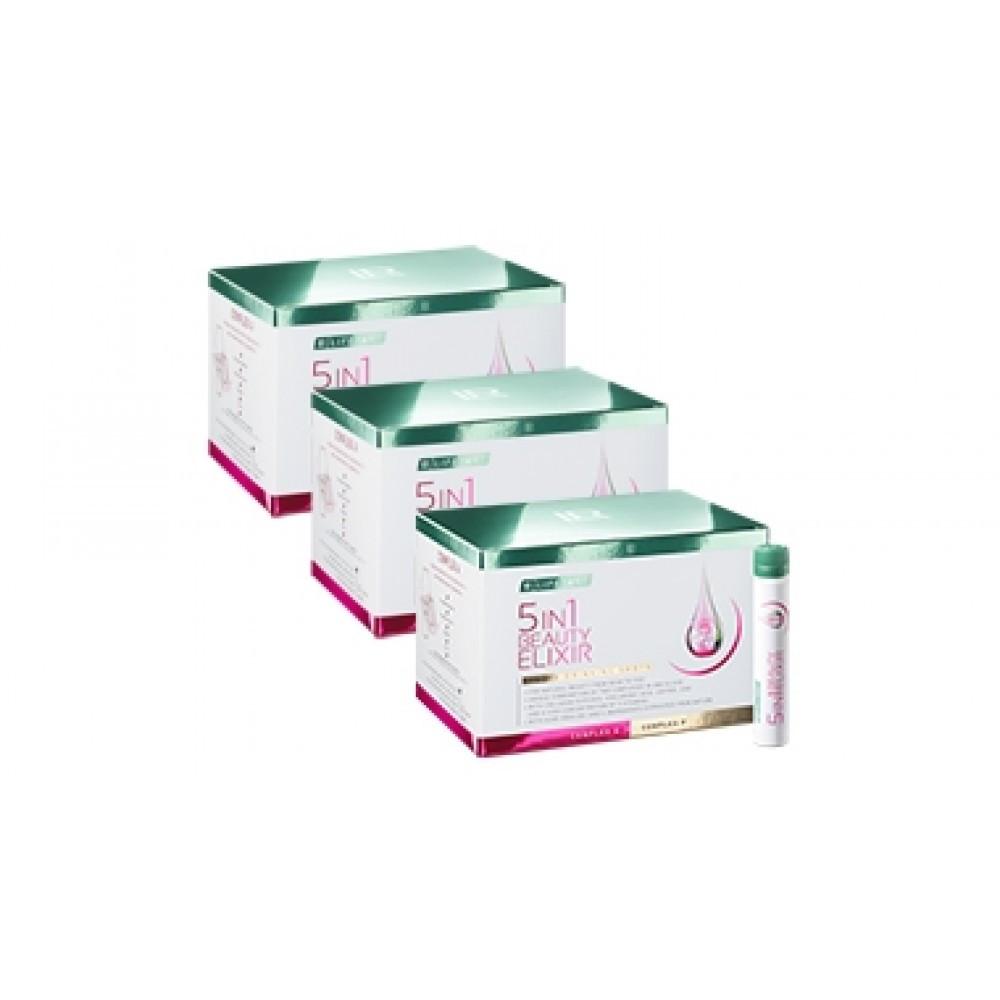 Набор Эликсир красоты 5 в 1 LR Health & Beauty LR Lifetakt Beauty Elixir 5 in 1, 3 упаковки, 81033