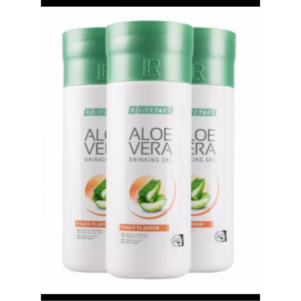 Набор питьевой гель Алоэ Вера со вкусом персика LR Health & Beauty LR Lifetakt Aloe Vera Peach Flavour, 1 упаковка, 80783