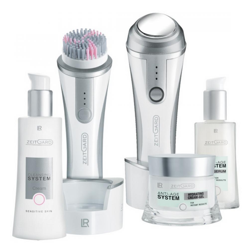 Набор для увлажнения чувствительной кожи с двумя приборами LR Health & Beauty Zeitgard, 5 позиций, 71018