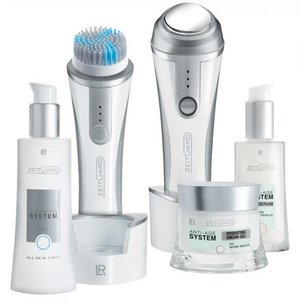 Набор для увлажнения нормальной кожи с двумя приборами LR Health & Beauty Zeitgard, 5 позиций, 71016