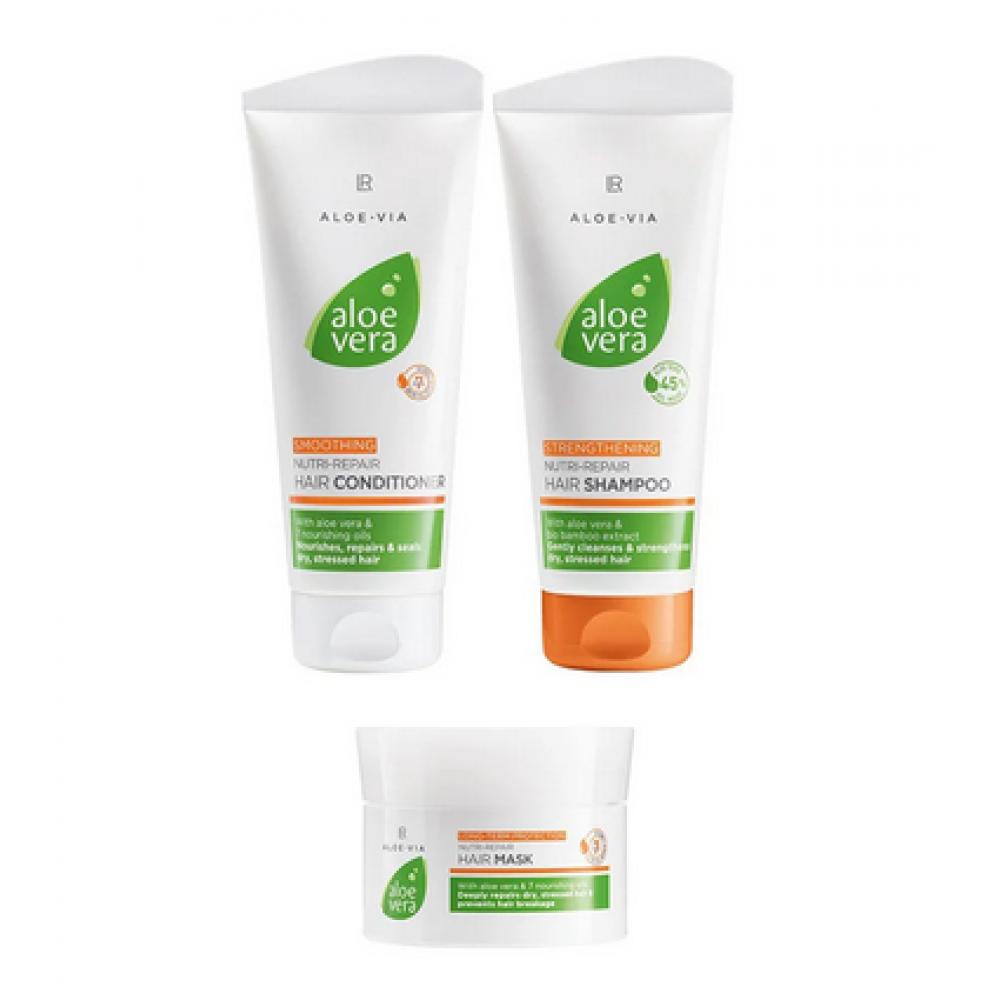 Набор для обновления и ухода за волосами LR Health & Beauty ALOE VIA Aloe Vera, 20763